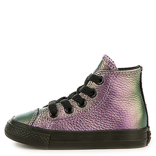 e5d31e2d548a Converse black orangeray bright violet Toddler Chuck Taylor All Star  Iridescent Sneaker