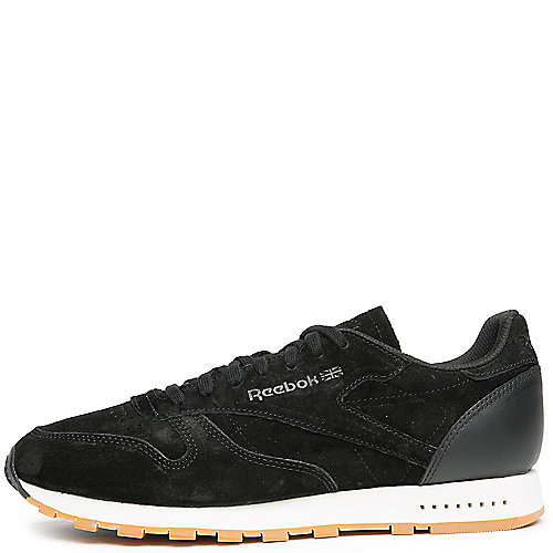 Reebok BLACK CHALK GUM Men s Classic Leather SG Sneaker 5b7d88023