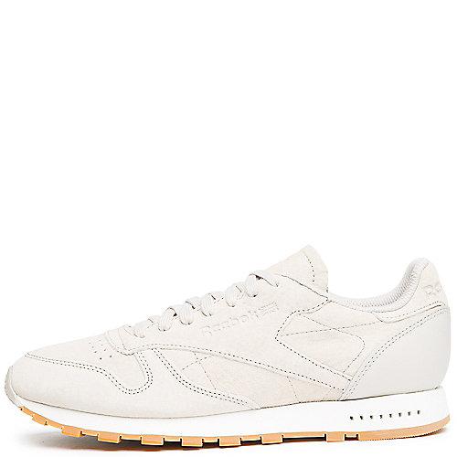 dcd7901c2cc Reebok SAND STONE CHALK GUM Men s Classic Leather SG Sneaker
