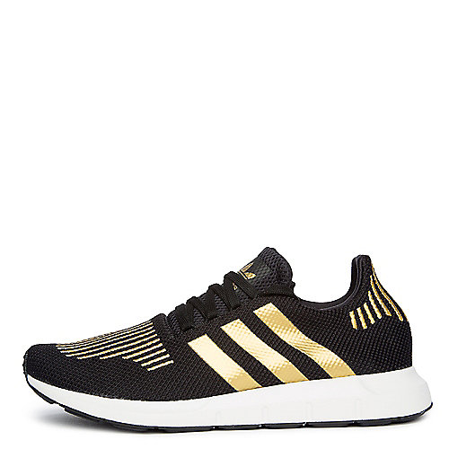 fcdaf367d8e01 adidas. CBLACK GOLDMT FTWWHT Women s Swift Run Sneaker