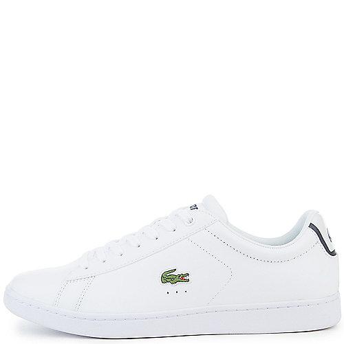 1fe52e544eedf8 Lacoste White Men s Carnaby Evo Sneaker