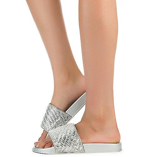 Women S Riri Bling Sandals Shiekh Shoes
