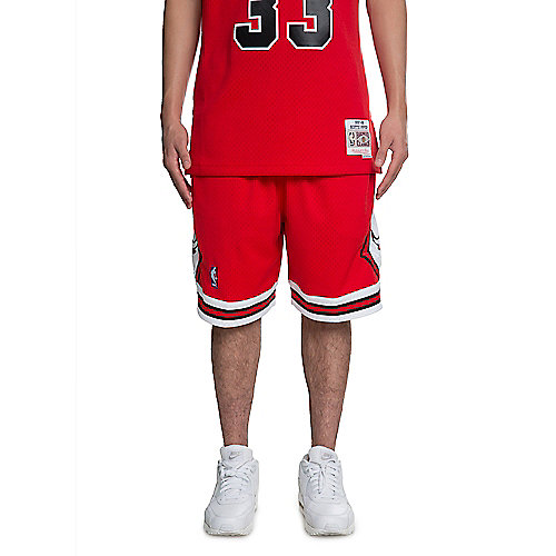 scarlet Men s Chicago Bulls Basketball Shorts 10eeafa13c9