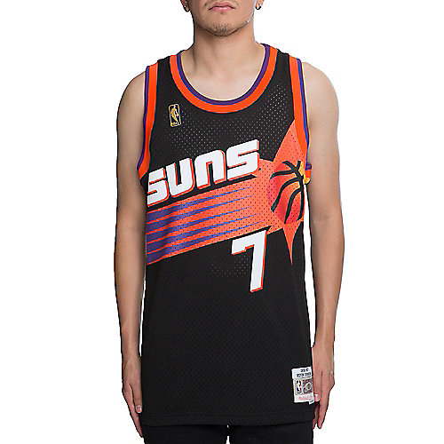 c5e1be527a0 BLACK Men s Suns Kevin Johnson 7 Jersey