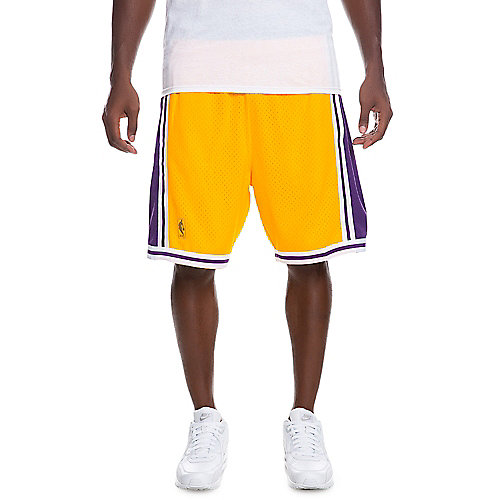 cc2903c49480 PURPLE GOLD Men s Los Angeles Lakers Shorts