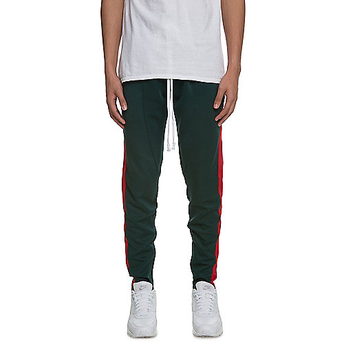 Green/Red Men's FB Track Pants | Tuggl