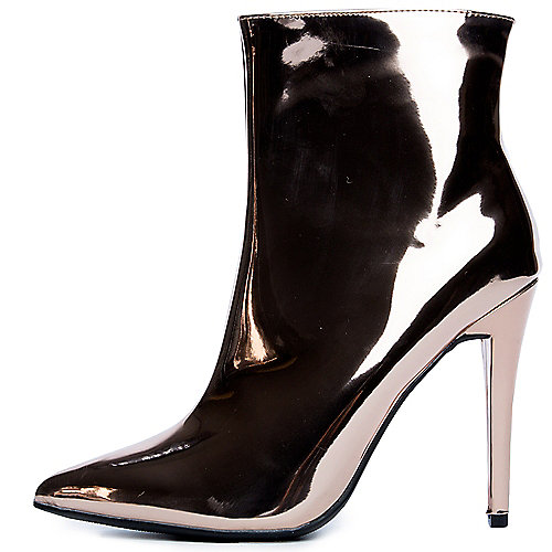 b0946781582 Anne Michelle rose gold Women s Dedicate-44S High Heel Bootie
