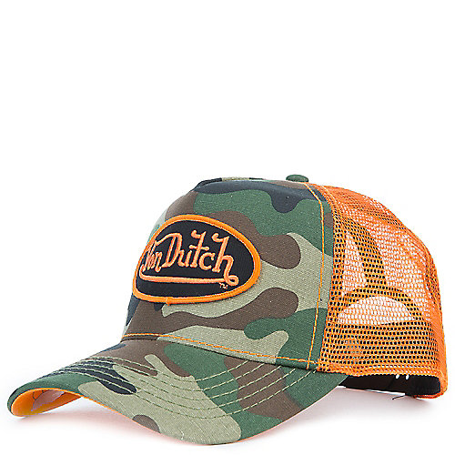 green camo Men s Camo Trucker Snapback 89b80f93901