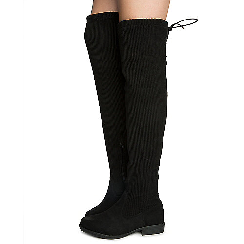 BLKCRP Women's Montana-79S Knee High Boots at Shiekh Shoes in Los Angeles, CA | Tuggl