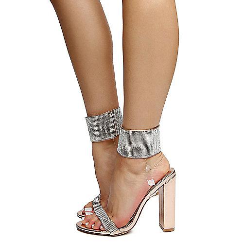 087ff8f33658 Liliana rosegold Women s Glazer-19 High Heels