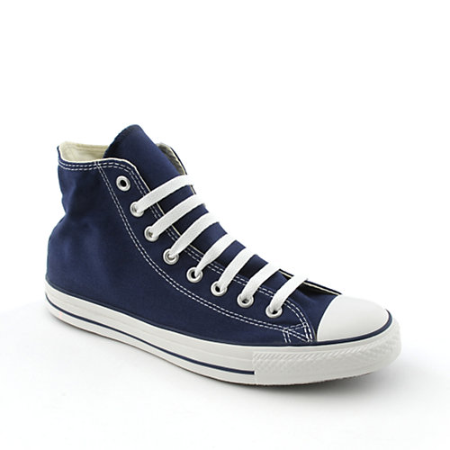 Converse Mens All Star Hi navy casual lace up sneaker