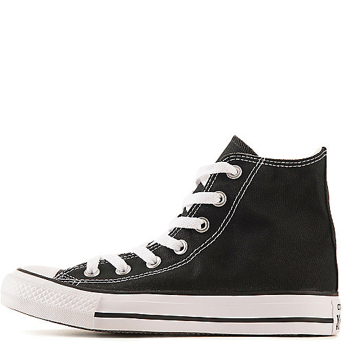 Converse Mens All Star Hi black casual lace up sneaker