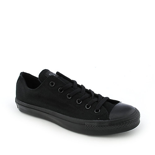 Converse Mens All Star Lo Black Casual Lace Up Sneaker