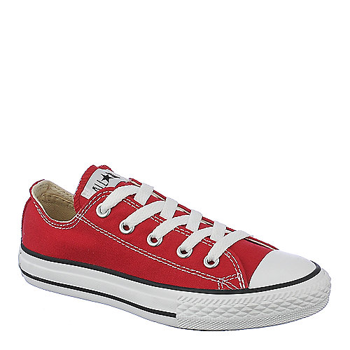 Converse Kids All Star Ox red lace up casual sneaker