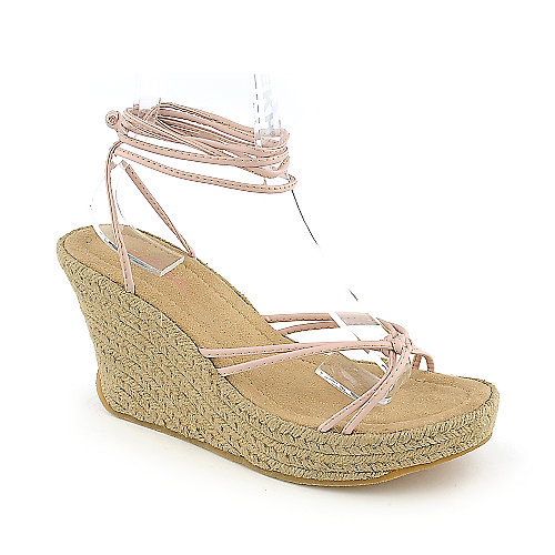 Soda Fontana womens wedge sandal