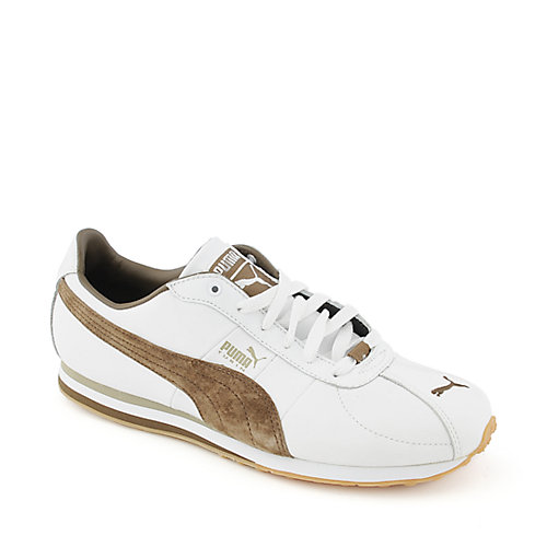 a5fd35b93c56 Puma Turin Leather mens athletic running sneaker