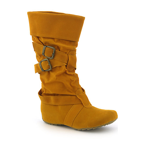 Yoki Buckle-05 womens boot