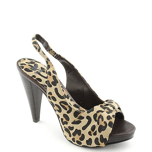 Shiekh Finella-75 womens leopard print dress shoe