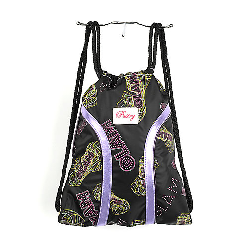 Pastry NY Cinch Sack black bag