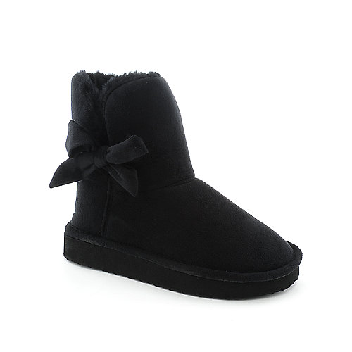 Shiekh Kids Lovely-25 black flat slouch boot