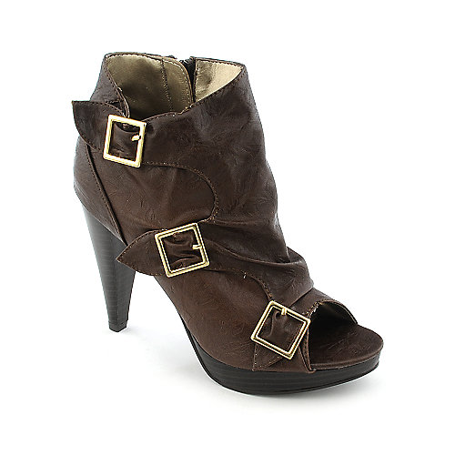Qupid Womens Finella Bootie