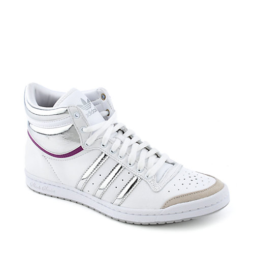 adidas Top Ten Hi Sleek womens athletic court sneaker