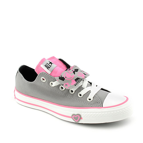 a7ba9b22c6f2 ... promo code for converse kids all star double tongue smiley ox 17a37  a13d1 cheap converse allstar low double tongue blue pink unisex ...
