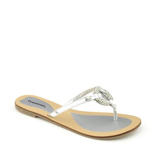 Shiekh Women's Flavor-S Thong Flip Flop Sandal