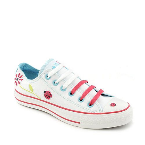 Converse Womens All Star Flowers Ox