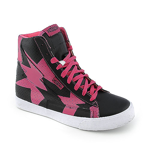 Punkrose Kaboom womens casual lace-up sneaker