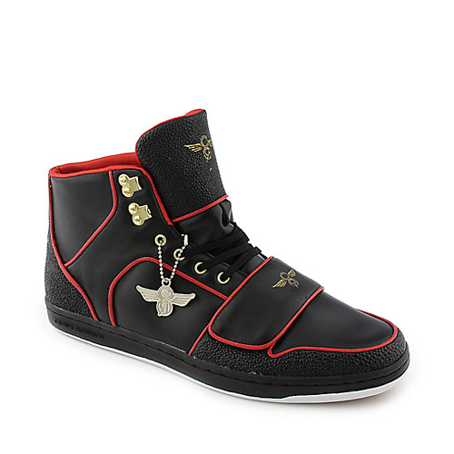 Creative Recreation Cesario black and red athletic lifestyle sneaker