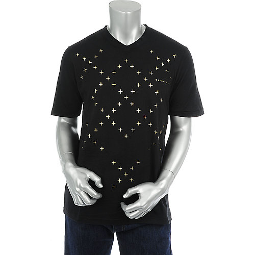 Sean John Mens Gold Diamonds T-Shirt