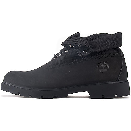 mens timberland black roll top boots