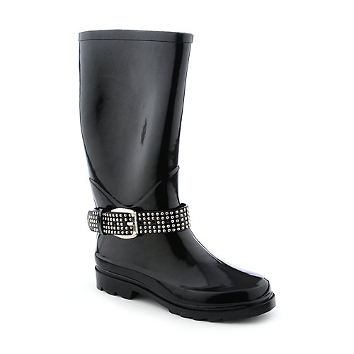 Nature Breeze Womens Buckle Rain Boot