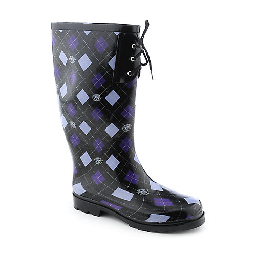 Nature Breeze Womens Lace Rain Boot