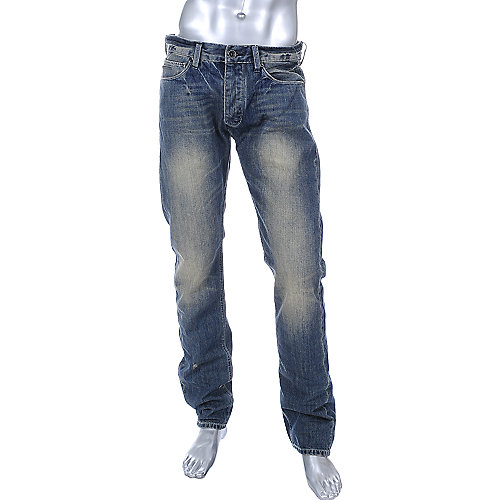 Sean John Mens Multi Pocket Wash Jeans