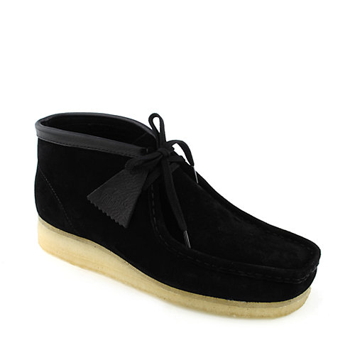 Gilmore Walk, men's shoes, black leather - With a mix of interest tumbled leathers, these black lace-up shoes offer a contemporary twist on the simple style.