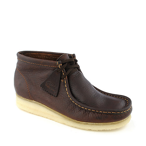Clarks Originals Wallabees mens brown casual dress boot