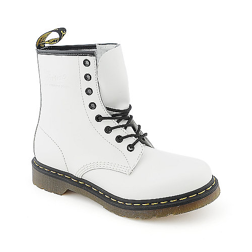 Dr. Martens 1460 W womens platform low heel mid calf boot