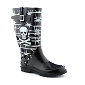 Womens Harness Rain Boot
