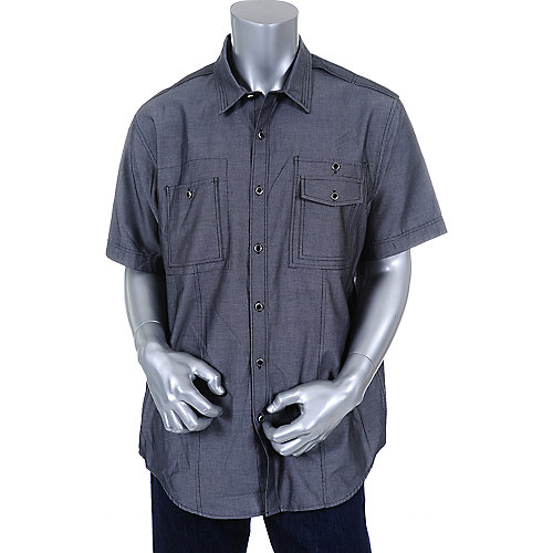 Sean John Mens Double Pocket Shirt