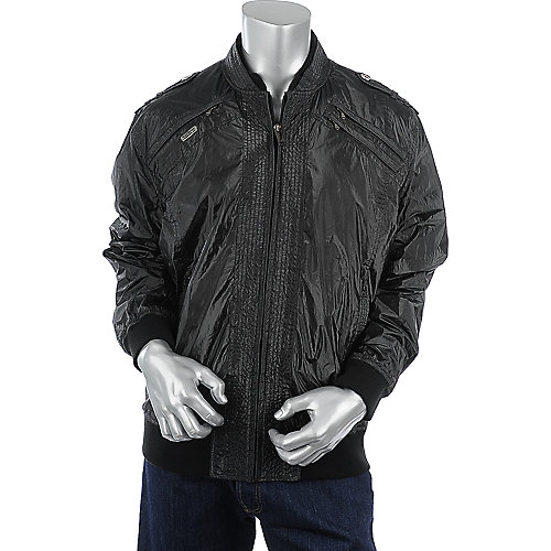 Sean John Black Jacket mens jacket