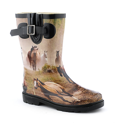 Nature Breeze Kids Horse II Rain Boot