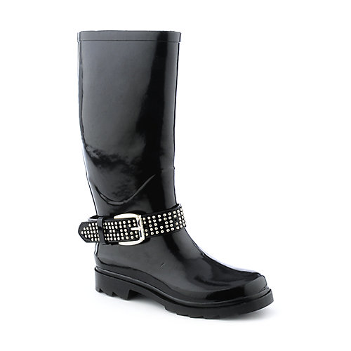 Sweet Beauty Womens Buckle Rainboot