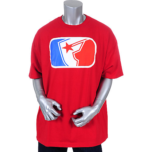 Famous Stars and Straps Mens Major League  Logo Tee