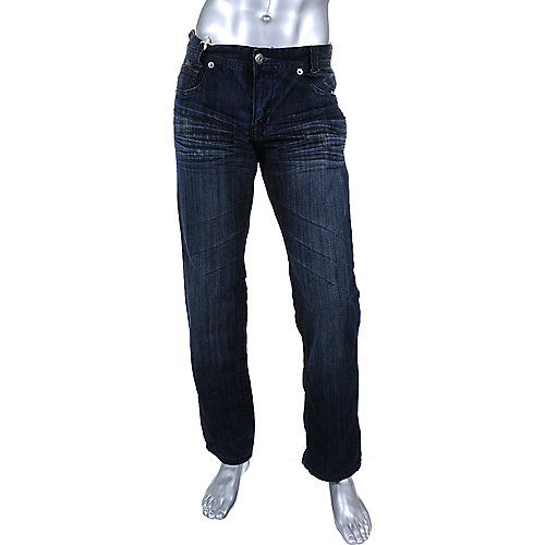 Ten25 Mens Dark Wash w/Flap Jeans