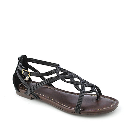 Shiekh Trap-S womens flat strappy sandal