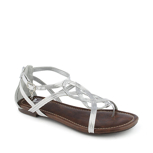 Shiekh Trap-S womens flat strappy thong sandal