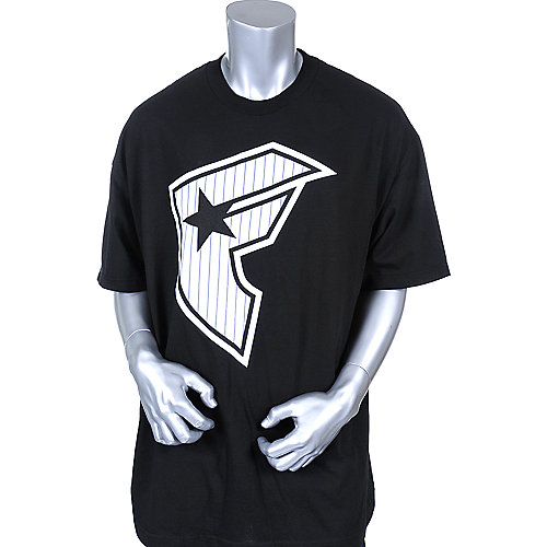 Famous Stars and Straps Mens Classic Stripe Tee