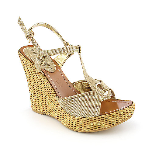 Bamboo Pelly-07 casual espadrille wedge
